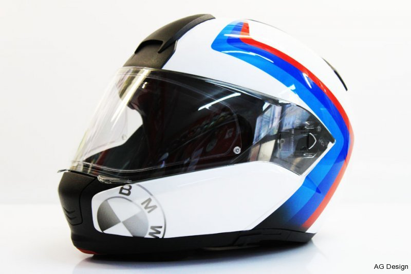 Aerografia Casco Bmw Motorrad